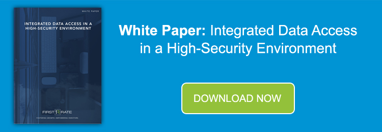 Banner - White Paper 3 - Integrated Data Access in a High-Security Environment